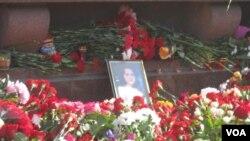 «Народный мемориал» у станции метро «Технологический институт»