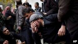 Serangan udara di Azaz dimulai delapan bulan lalu setelah pemberontak merebut kota itu (foto: Dok).
