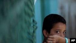Des dizaines de milliers de petits sans-papiers ont passé la frontière illégalement ces douze derniers mois pour entrer aux Etats-Unis (AP)