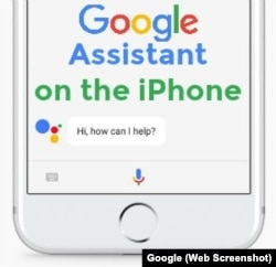 Google Assistant on the iPhone