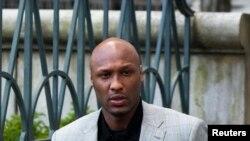 FILE - Former NBA star Lamar Odom.