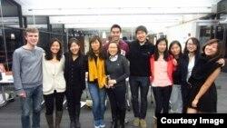 미국 하버드대학교 내 북한인권 모임 (HRiNK: Harvard Human Right in North Korea) 학생들.