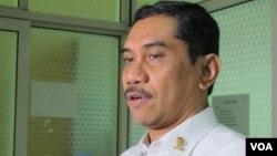Kepala Badan Nasional Penanggulangaan Terorisme (BNPT), Suhardi Alius. (VOA/Fathiyah Wardah)