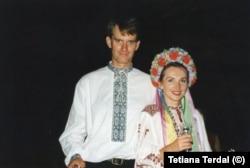 Весілля Тетяни та її чоловіка Пола