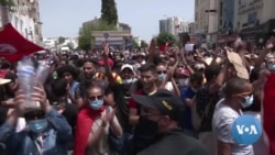 Protests Flare in Tunisia as Critics Accuse President of 'Coup'