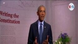 """Barack Obama: """"Debemos esperar que el presidente sea el guardián de esta democracia"""""""