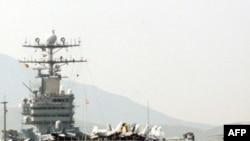 Атомный авианосец «Авраам Линкольн» класса «Нимиц»