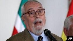 El secretario ejecutivo del grupo opositor, MUD, Guillermo Aveledo, dijo que la negociación no es un cheque en blanco.