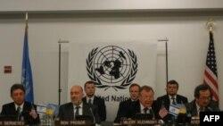 Конференция в штаб-квартире ООН в Нью-Йорке, посвященная Международному дню памяти жертв Холокоста.