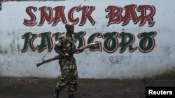 Un soldat à Bujumbura (Reuters)