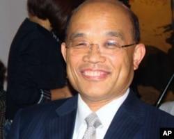 民进党台北市长候选人苏贞昌