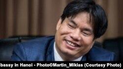 Ông Lê Hồng Quang (Slovakia Embassy in Hanoi - Photo©Martin_Miklas)