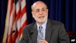Kepala Bank Sentral AS Ben Bernanke mengatakan saat ini ekonomi AS masih memerlukan stimulus dalam konferensi pers hari Rabu (18/9).