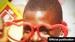 Campanha de Filipe Nyusi no Chibuto, Moçambique, Out. 2014