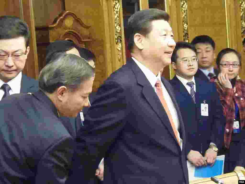 中國國家主席習近平在杜馬