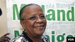 Mirlande Manigat yon lidè nan opozisyon an