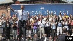 Барак Обама ищет поддержки плану создания рабочих мест