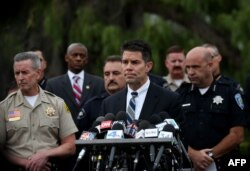FILE - Federal Bureau of Investigation assistant director David Bowdich speaks during a news conference in San Bernardino, Calif., Dec. 4, 2015.