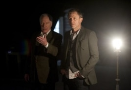 "Daniel Craig as Mikael Blomkvist, right, and Christopher Plummer as Henrik Vanger in ""The Girl With The Dragon Tattoo"""