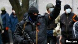 Сепаратисти в Слов'янську
