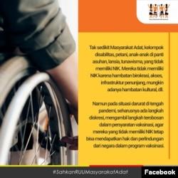 Surat Terbuka Aliansi Masyarakat Adat Nusantara (AMAN) Kepada Presiden Republik Indonesia Bapak H. Joko Widodo. (Facebook/@AliansiMasyarakatAdatNusantara )