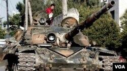 حلب میں فوجی کاروائی