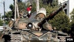 阿勒頗戰鬥激烈