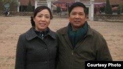 Phát ngôn viên của đại sứ quán Mỹ tại Hà Nội cho biết ông Cù Huy Hà Vũ và vợ, bà Nguyễn Thị Dương Hà đã tới thủ đô Washington hôm thứ hai.