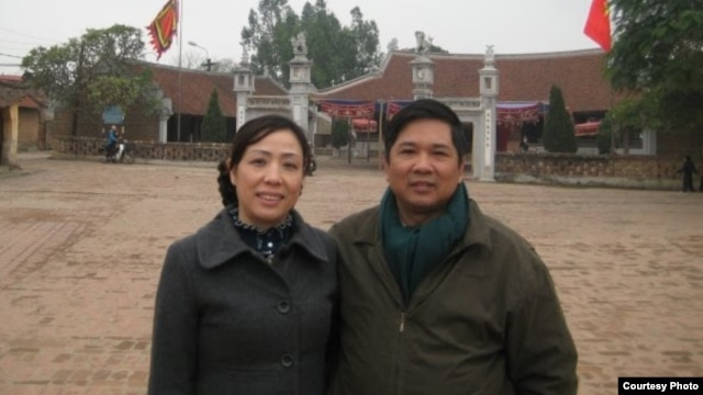 Luật sư Nguyễn Thị Dương Hà và Tiến sĩ luật Cù Huy Hà Vũ