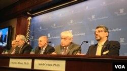 Конференция в исследовательском центре Фонда «Наследие». Вашингтон, Округ Колумбия