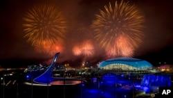 Церемония закрытия Олимпийских игр. Сочи, 23 февраля 2014г.