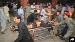 巴基斯坦大選前發生自殺爆炸(美聯社)