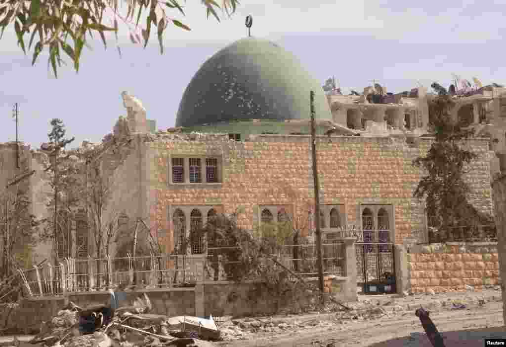 Halab, Sulaymon al-Halbi tumanidagi masjid