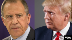Što mu je otkrio? Predsjednik SAD Donald Trump i Sergej Lavrov, ruski ministar vanjskih poslova