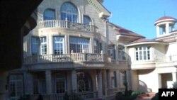 Резиденция Рамзана Кадырова в Центорое