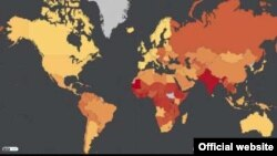 Dünyada quldarlığın səviyyəsi