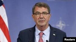 Menteri Pertahanan America Serikat Ash Carter (Foto: dok).