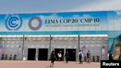 Lokasi berlangsungnya Konferensi Perubahan Iklim PBB di Lima, Peru (4/12). (Reuters/Mariana Bazo)