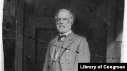 Robert E. Lee seen here in April 1865. (Photo by Matthew Brady)