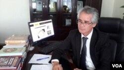 Jurnalist va oʻqituvchi Abduqodir Talbakov