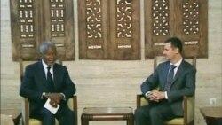 Кофи Аннан встретился с Башаром Асадом