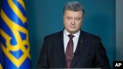 Presiden Ukraina,Petro Poroshenko (foto: dok).