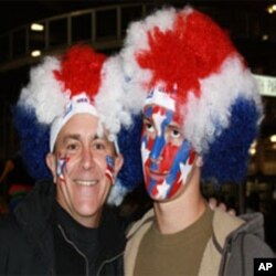 Spirited American Fans Impressed at Football World Cup