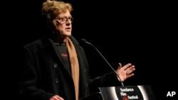"""Robert Redford, fundador del Instituto Sundance, inaugura el festival con la presentación del documental """"What Happened, Miss Simone?"""", el jueves en Park City, Utah."""