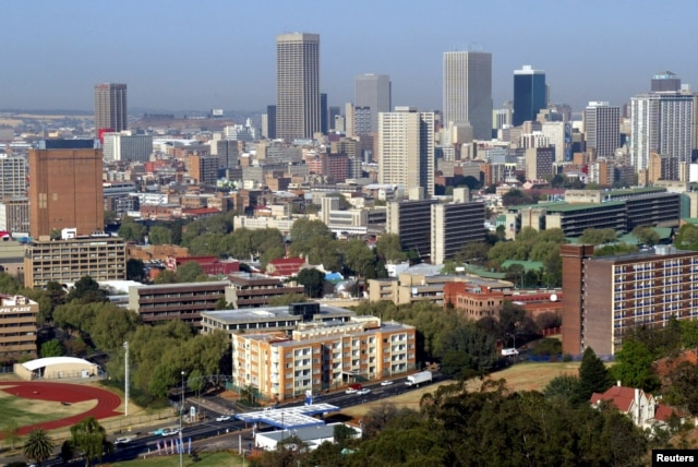 "FILE - Johannesburg is emerging as one of the continent's first ""mega-cities""- bringing both opportunities and challenges as South Africa extends its dominance northwards."