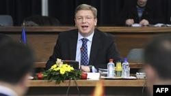 Evropski komesar za proširenje, Štefan File (arhiva)