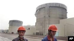 上海西南方125公里处的秦山核电站