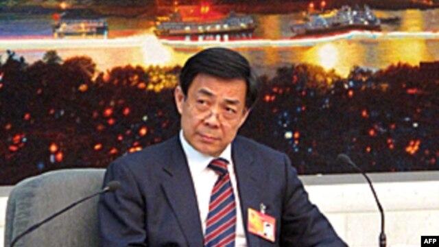 中共中央政治局委员、重庆市委书记薄熙来(资料照片)