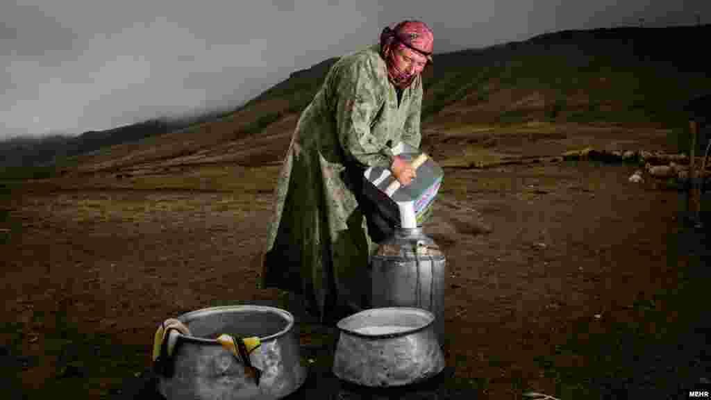 زندگی مردم عشایر شاهسون - عکس محمدرضا عباسی