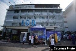 Layanan khusus pasien Covid-19 di Rumah Sakit Akademik UGM, Yogyakarta. (Foto: Humas UGM)